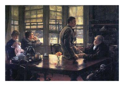 The Prodigal Son in Modern Life- the Farewell-James Tissot-Art Print