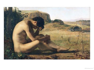 The Prodigal Son-Emile Salome-Giclee Print