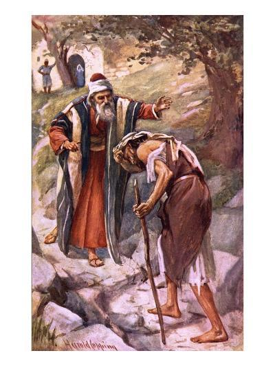 The Prodigal Son-Harold Copping-Giclee Print