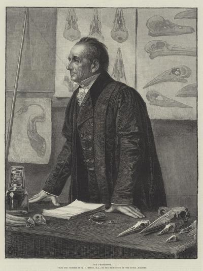The Professor-Henry Stacey Marks-Giclee Print