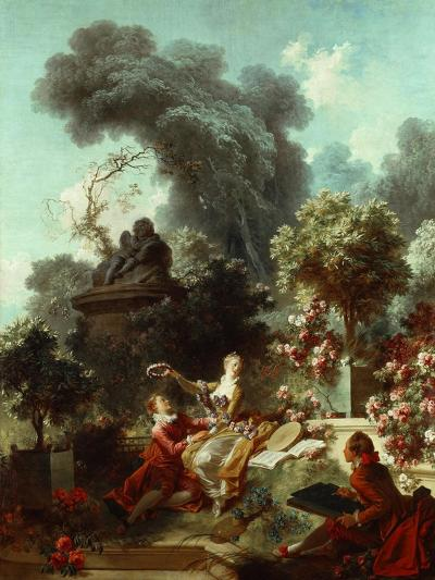 The Progress of Love: The Lover Crowned, 1771-72-Jean-Honore Fragonard-Giclee Print