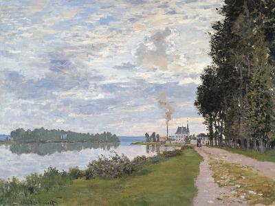 The Promenade at Argenteuil. La Promenade d'Argenteuil-Claude Monet-Giclee Print