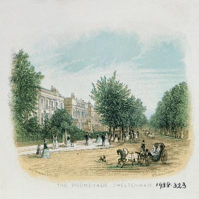 The Promenade, Cheltenham-William Dickes-Giclee Print