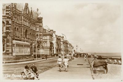 The Promenade, Deal--Photographic Print