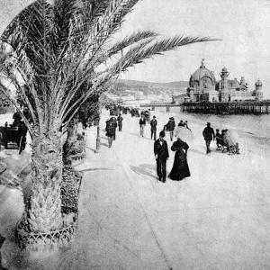 The Promenade Des Anglais, Nice, France, Late 19th Century
