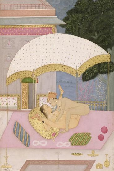 The Proper Posture for Female Type: Shankhini; Male Type: Vrishna--Giclee Print