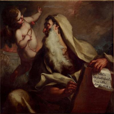 The Prophet Isaiah-Antonio Balestra-Giclee Print