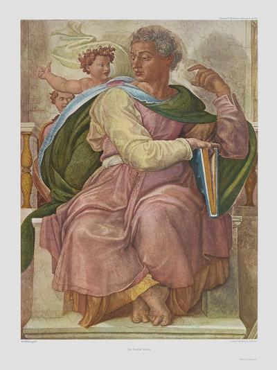 The Prophet Jesaias-Michelangelo Buonarroti-Collectable Print