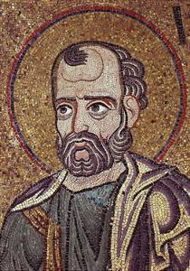 The Prophet Jonah (Detail of Interior Mosaics in the St. Mark's Basilic), 12th Century