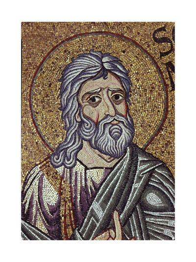The Prophet Zephaniah (Detail of Interior Mosaics in the St. Mark's Basilic), 12th Century--Giclee Print