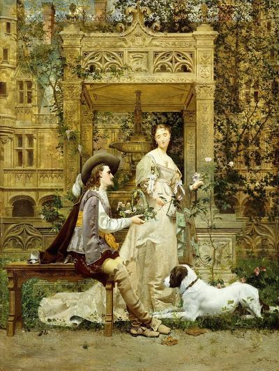 The Proposal, 1876-Paul Alphonse Viry-Giclee Print