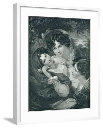 The Proposal, C1819-Henry Meyer-Framed Giclee Print