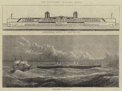 The Proposed Channel Ferry--Giclee Print