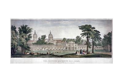 The Proposed Gravesend Railroad, 1835-Charles Joseph Hullmandel-Giclee Print