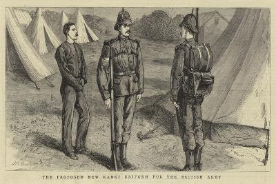 The Proposed New Khaki Uniform for the British Army--Giclee Print