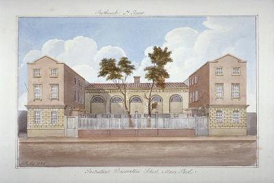 The Protestant Dissenters' School, Maze Pond, Bermondsey, London, 1825-G Yates-Giclee Print