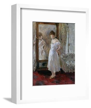 The Psyche Mirror by Berthe Morisot--Framed Photographic Print