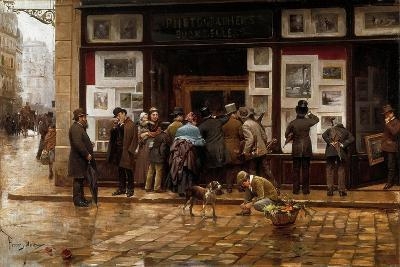 The Public Exhibition of Painting, 1888-Juan Ferrer y Miro-Giclee Print