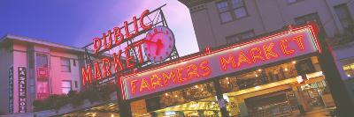 The Public Market Seattle WA USA--Photographic Print
