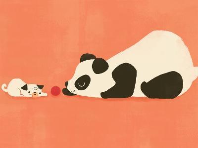 The Pug and the Panda-Jay Fleck-Art Print