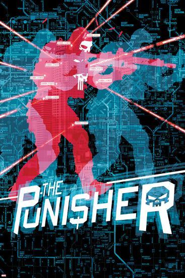 The Punisher No. 18 Cover-Mitch Gerads-Art Print