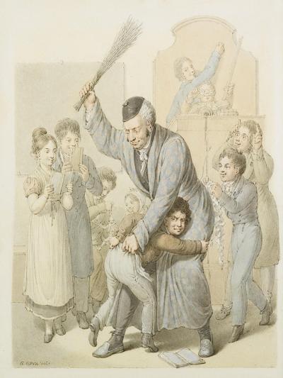 The Punishment in School Classroom-Georg Emanuel Opiz-Giclee Print