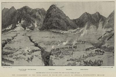 The Punishment of the Koda Khels in their Own Valley by General Westmacott's Brigade-Joseph Nash-Giclee Print