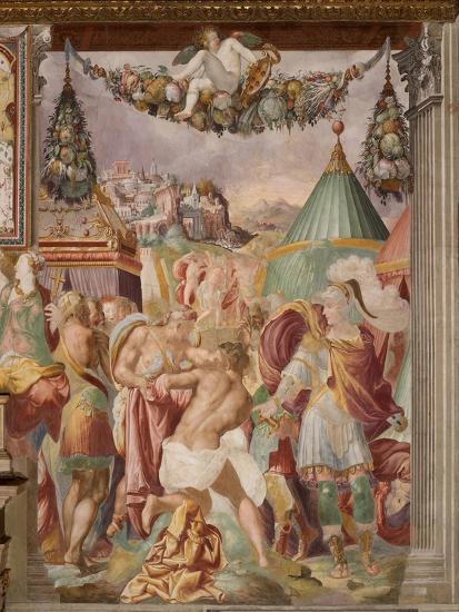 The Punishment of the Treacherous Schoolmaster of Falerii, C. 1544-Francesco de Rossi-Giclee Print