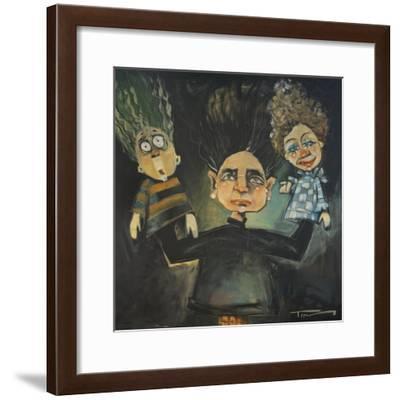 The Puppeteer 2-Tim Nyberg-Framed Giclee Print