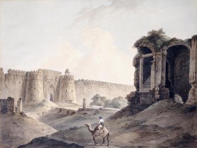 The Purana Qila, Delhi-Thomas & William Daniell-Giclee Print