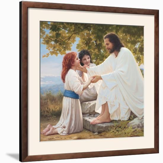 The Pure Love of Christ-Mark Missman-Framed Photographic Print