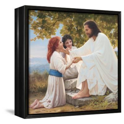 The Pure Love of Christ-Mark Missman-Framed Canvas Print