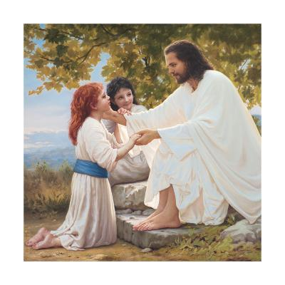 The Pure Love of Christ-Mark Missman-Art Print