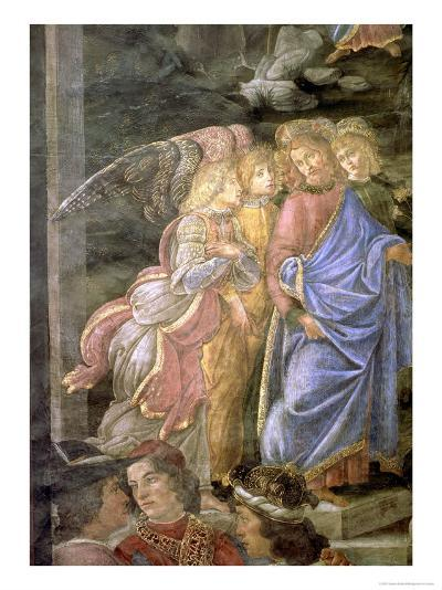 The Purification of the Leper and the Temptation of Christ-Sandro Botticelli-Giclee Print