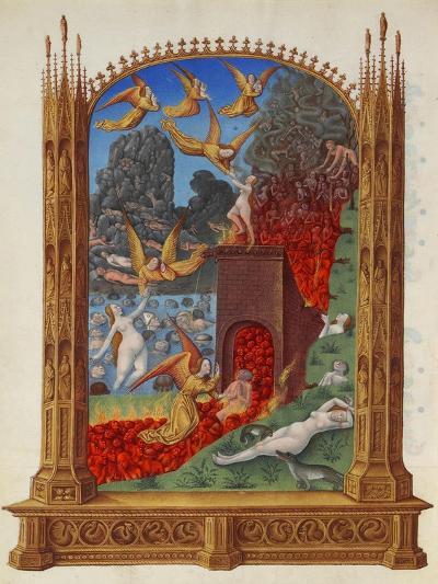 The Purified Souls in Purgatory (Les Très Riches Heures Du Duc De Berr)--Giclee Print