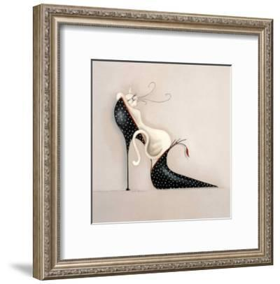 The Purrfect Fit I-Marilyn Robertson-Framed Art Print