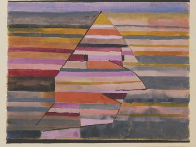 The Pyramid Clown-Paul Klee-Giclee Print