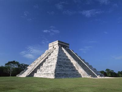 The Pyramid of Kukulkan-Danny Lehman-Photographic Print