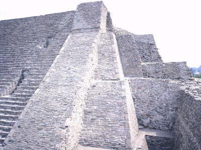 The Pyramid of Tenayuca--Giclee Print