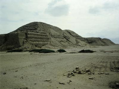 The Pyramid of the Sun--Giclee Print
