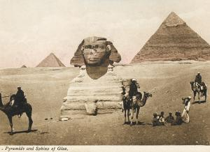 The Pyramids and the Sphinx at Giza, Cairo, Egypt