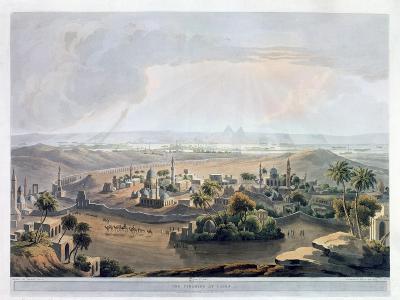 The Pyramids at Cairo, 1809- Rawle-Giclee Print