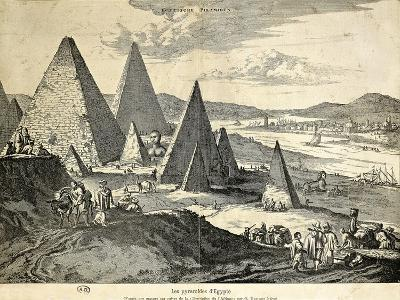 The Pyramids in Egypt from the Voyage--Giclee Print