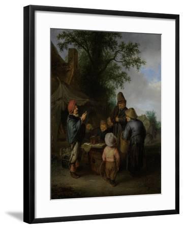 The Quack-Adriaen Van Ostade-Framed Art Print