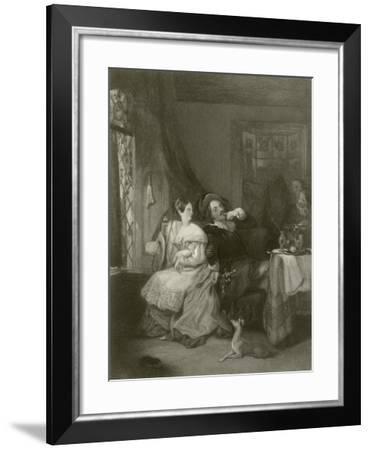 The Quarrel-Francis Phillip Stephanoff-Framed Giclee Print