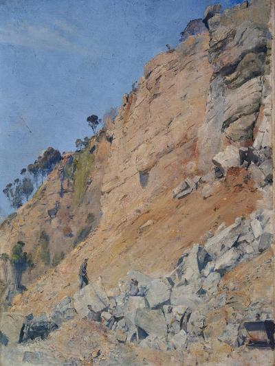 The Quarry, Maria Island, 1926-Thomas William Roberts-Giclee Print