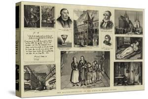 The Quater-Centenary of the Birth of Martin Luther