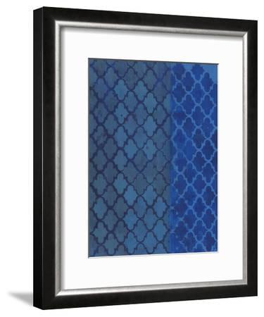 The Quatrefoil Blues-Smith Haynes-Framed Art Print