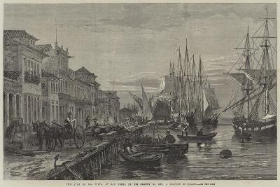 The Quay of Boa Vista, at San Pedro De Rio Grande Do Sul, a Seaport of Brazil--Giclee Print