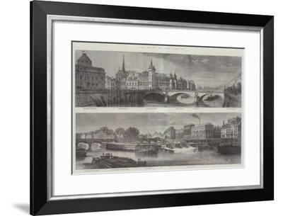 The Quays of Paris-Felix Thorigny-Framed Giclee Print